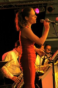 Solveig with Fellow Bigband 2009