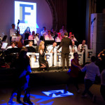 Fellows Bigband in Panama Conductor Loet van der Lee
